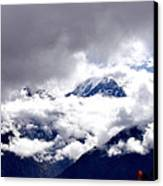 Kinner Kailash Hills- Himachal Pradesh- Viator's Agonism Canvas Print by Vijinder Singh