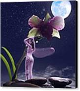 Kiss My Faery Ass Canvas Print by Diana Shively