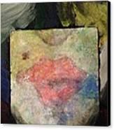 Kisses Canvas Print by D August