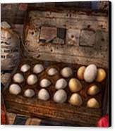 Kitchen - Food - Eggs - 18 Eggs  Canvas Print