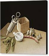 Kitchen Geometry Canvas Print by Jenny Barron