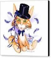 Kitticat Party Design Canvas Print