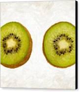 Kiwi Slices Canvas Print by Danny Smythe
