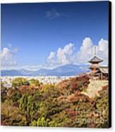 Kiyomizu Dera Temple Kyoto Japan Canvas Print