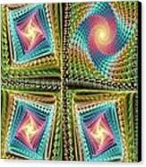 Knitting Canvas Print by Anastasiya Malakhova
