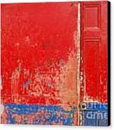 Knock Knock Canvas Print by Susan Hernandez