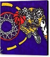 Kobe Bryant Canvas Print by Jeremiah Colley
