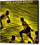 Kobe Lakers Canvas Print