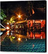 Koh Samui Beach Resort Canvas Print
