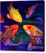 Koi Friends Canvas Print by Robert Hooper