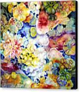 Koi Garden Canvas Print by Ann  Nicholson