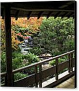 Kokoen Garden - Himeji City Japan Canvas Print by Daniel Hagerman