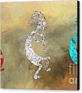 Kokopellis Canvas Print by GCannon