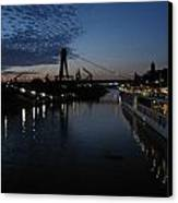 Koln Rhine Reflections Canvas Print