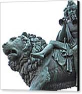 Konzerthaus Berlin - Lion Sculpture  Canvas Print by Ankeeta Bansal