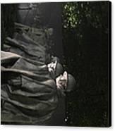 Korean War Veterans Memorial - Washington Dc - 01131 Canvas Print by DC Photographer