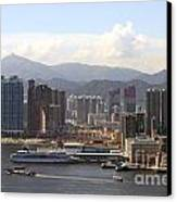Kowloon In Hong Kong Canvas Print
