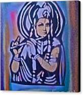 Krishna 2 Canvas Print by Tony B Conscious