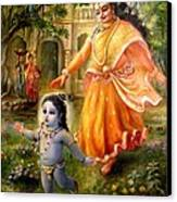 Krishna Damodara Canvas Print