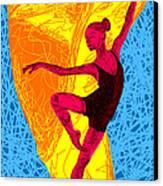 La Ballerina Du Juilliard Canvas Print