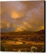 La Boca Rain Canvas Print by Jerry McElroy