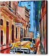 La Bodeguita Canvas Print by Maria Arango