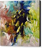 La Palette Enchantee Canvas Print by Isabelle Vobmann
