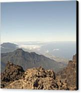 La Palma Canvas Print by Peter Cassidy