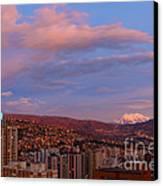 La Paz Twilight Canvas Print by James Brunker