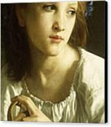 La Petite Ophelie Canvas Print