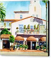 La Valencia Hotel Canvas Print