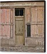 La Vie En Roses Is Closed Canvas Print by Olivier Le Queinec