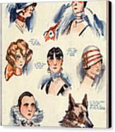 La Vie Parisienne 1924 1850s France F Canvas Print by The Advertising Archives