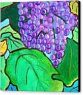 La Vin II Canvas Print by Doreen Kirk