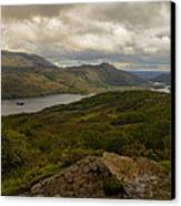 Ladies View Lakes Of Killarney Ireland Canvas Print by Dick Wood