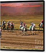 Ladies World Chapionship Ladies Cup Missing One Lady Canvas Print by Blake Richards