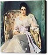 Lady Agnew Of Lochnaw Canvas Print by John Singer Sargent