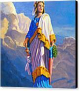 Lady Freedom Canvas Print by Steve Simon