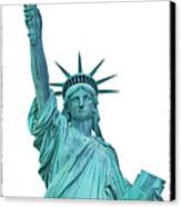 Lady Liberty Canvas Print by Jaroslav Frank
