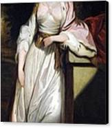 Lady Mary Isabella Somerset Canvas Print by Robert Smirke