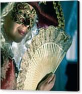Lady Of Renaissance Canvas Print