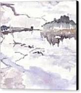 Lake District Canvas Print by David  Hawkins