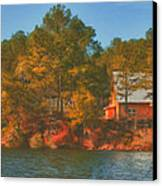 Lake House Canvas Print by Brenda Bryant