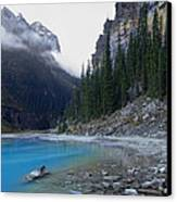 Lake Louise North Shore - Canada Rockies Canvas Print by Daniel Hagerman
