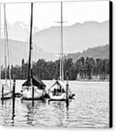 Lake Lucerne Switzerland  Canvas Print by Nian Chen