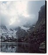Lake Of Glass Canvas Print by Eric Glaser