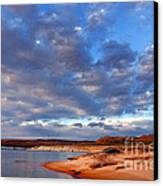 Lake Powell Morning Canvas Print by Thomas R Fletcher