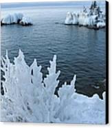 Lake Superior Blues Canvas Print