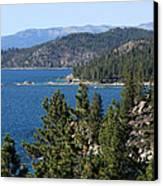 Lake Tahoe Nevada Canvas Print by Aidan Moran