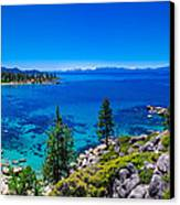 Lake Tahoe Summerscape Canvas Print by Scott McGuire